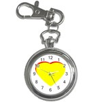 Heart Yellow Red - Wedding Invitation The MUSEUM Zazzle Gifts Key Chain Watch