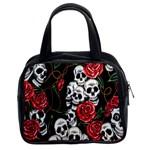 Skulls & Roses Classic Handbag (Two Sides)
