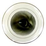 vinni s eye vignette Porcelain Plate
