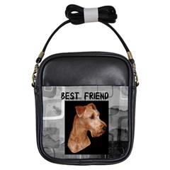 Irish Terrier Girls Sling Bag from UrbanLoad.com Front