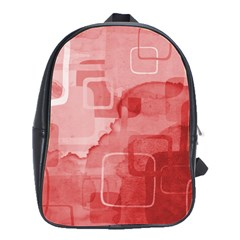 School Bag (Large) red from UrbanLoad.com Front