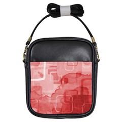 Girls Sling Bag red from UrbanLoad.com Front