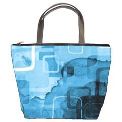 blue Bucket Bag from UrbanLoad.com Front