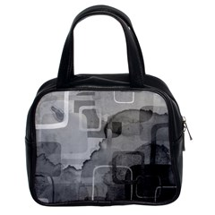 black Classic Handbag (Two Sides) from UrbanLoad.com Front