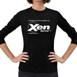 Moment of XenServer Women s Long Sleeve Dark T-Shirt