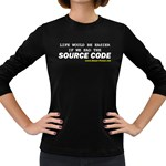 Source code Women s Long Sleeve Dark T-Shirt