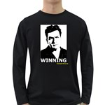 Winning Long Sleeve Dark T-Shirt