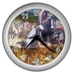 !ndn5 Wall Clock (Silver)
