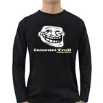 Internet Troll Long Sleeve Dark T-Shirt
