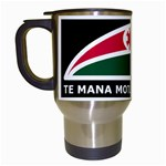 Tuhoe Flag  Travel Mug (White) from Maori Creations Left