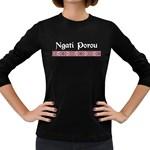 Ngati Porou Design Women s Long Sleeve Dark T-Shirt