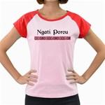 Ngati Porou Design Women s Cap Sleeve T-Shirt