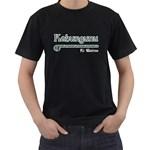 Kahungunu ki Wairoa Paua Design Black T-Shirt