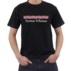 Mangopare Turinui Whanau  Black T Front