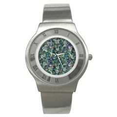 Paua Stainless Steel Watch from Maori Creations Front