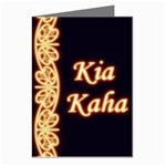 Kia Kaha with Mangotipi Greeting Cards (Pkg of 8)
