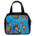 Dia De Blue Classic Handbag (Two Sides)