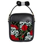 Skulls & Roses Girls Sling Bag