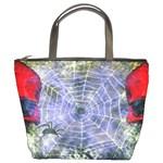 Skulls & Spiders Bucket Bag