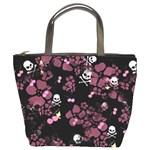 Skulls & Cherries Bucket Bag