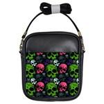 Skulls Girls Sling Bag
