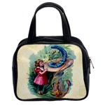 Vintage Alice In Wonderland Classic Handbag (Two Sides) from Manda s Macabre Front