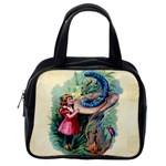 Vintage Alice In Wonderland Classic Handbag (Two Sides) from Manda s Macabre Back