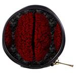 Vintage Brain Mini Makeup Bag