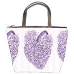 Shabby Chic Hearts Bucket Bag