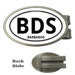BDS - Barbados Euro Oval Money Clip (Oval)