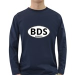 BDS - Barbados Euro Oval Long Sleeve Dark T-Shirt