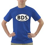 BDS - Barbados Euro Oval Dark T-Shirt