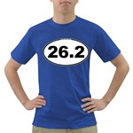 26.2 Marathoner Oval Dark T-Shirt