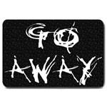 Go Away Large Doormat