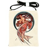 Dance by Alfons Mucha 1898 Shoulder Sling Bag