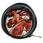 Dance by Alfons Mucha 1898 Mini Makeup Bag
