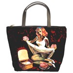 Zombie Pin Up Bucket Bag
