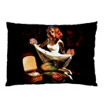 Zombie Pin Up Pillow Case (Two Sides)