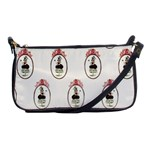 The Female Eye Shoulder Clutch Bag
