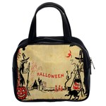 Halloween Witches Classic Handbag (Two Sides) from Manda s Macabre Front