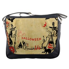 Halloween Witches Messenger Bag from Manda s Macabre Front