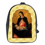 Madonna And Child School Bag (Large)