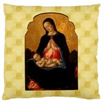Madonna And Child Large Cushion Case (Two Sides)