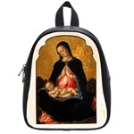 Madonna And Child School Bag (Small)