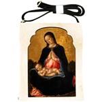 Madonna And Child Shoulder Sling Bag
